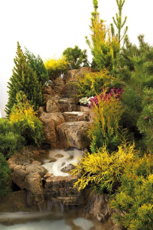 Aranżacja kaskady ogrodowa ATG małej.